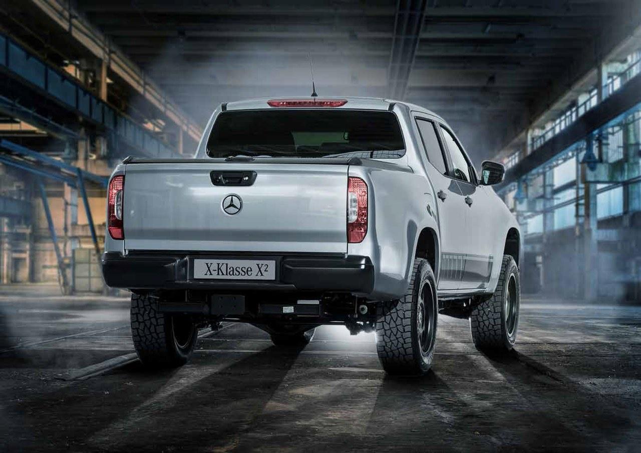 (X470): Mercedes-Benz lança modelo especial chamado de Classe X² 1b714410