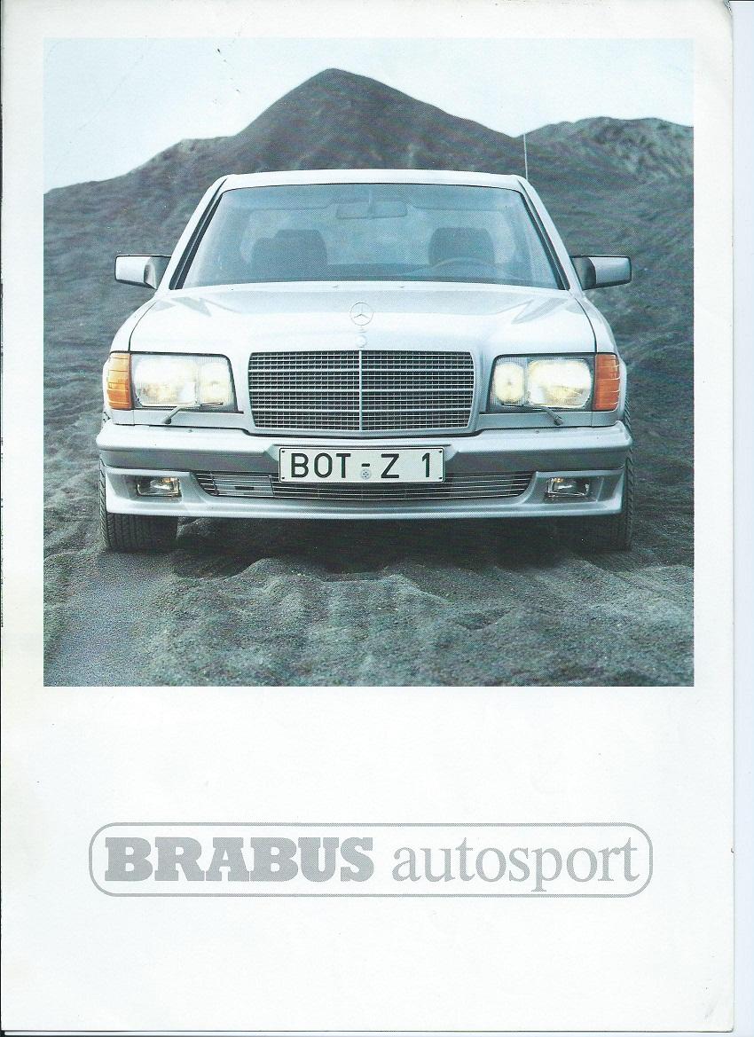(W126): Catálogo BRABUS® 1b892510