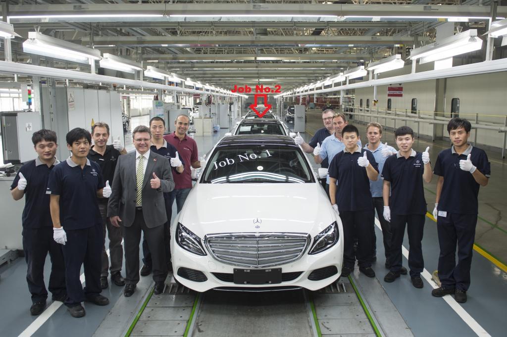 (W205): Daimler fabricará versão especial do Classe C para China 21611010