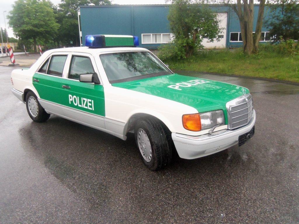 (W/B): Classe S 420SE B7 da polícia alemã  23a57e10