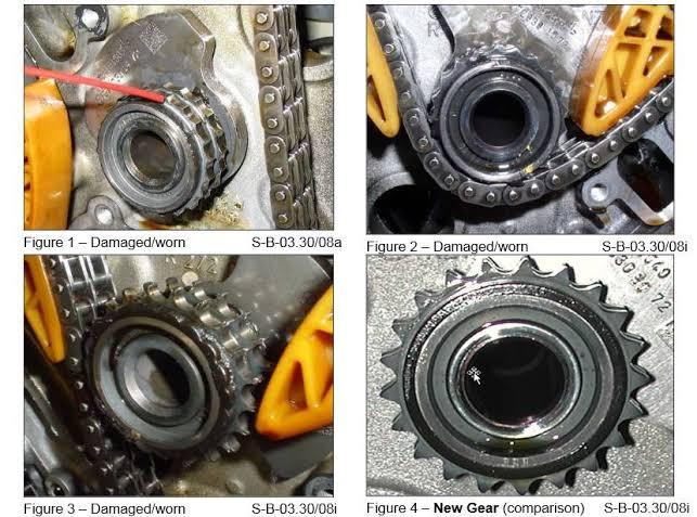 (MOTOR): M272 e M273 - defeitos crônicos - veículos fabricados entre 2004 e 2008  24103f10