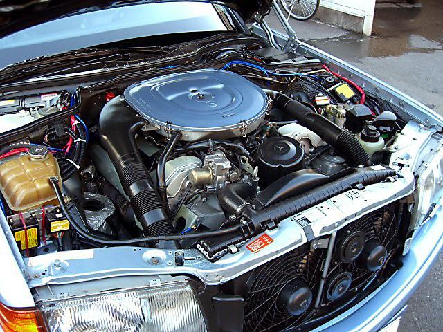 (W126): 560SEL AMG 6.0 - 4 assentos Recaro® - azul/azul 2ad2fc10