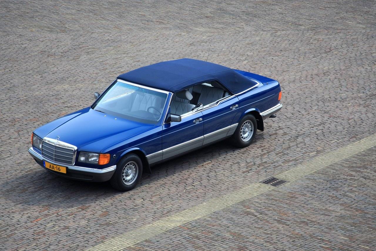 (W126): Caruna® - 380SEL 1984 conversível  2f0ad110