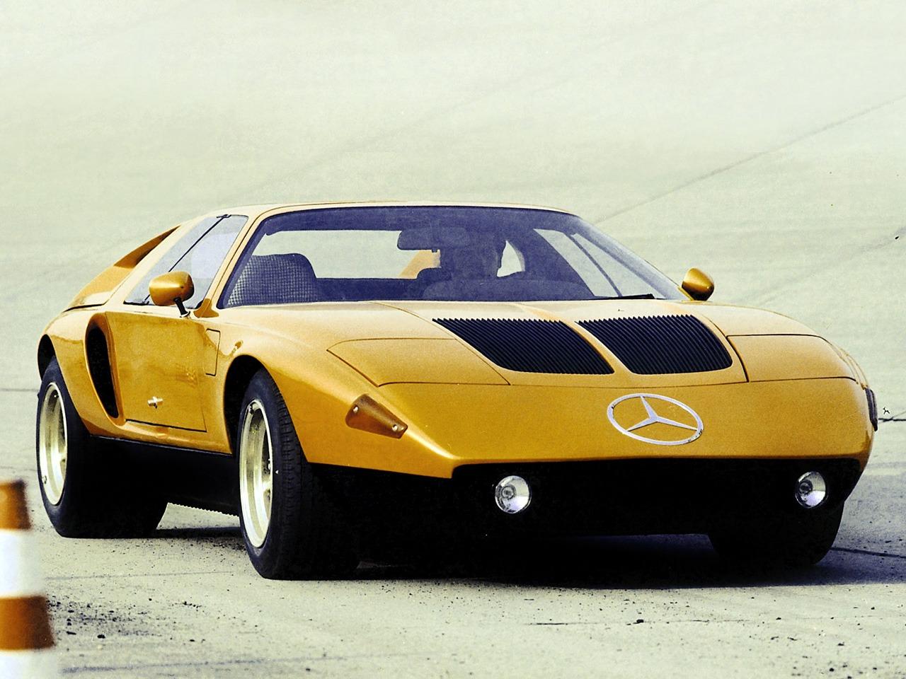(CONCEITO): Mercedes-Benz C111-II D Concept 1976 30d55410