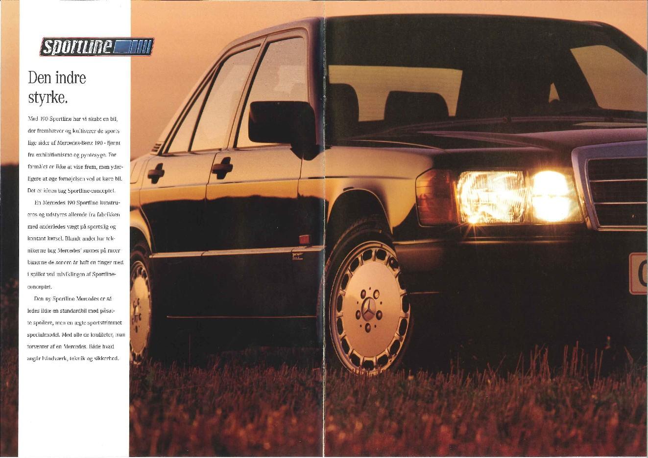 (W201): Catálogo Sportline para o mercado dinamarquês  33c14110
