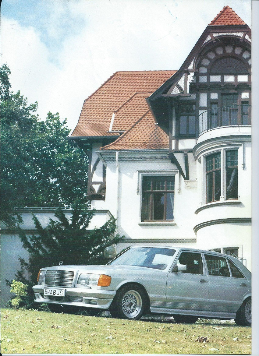 (W126): Catálogo BRABUS® 3643d410