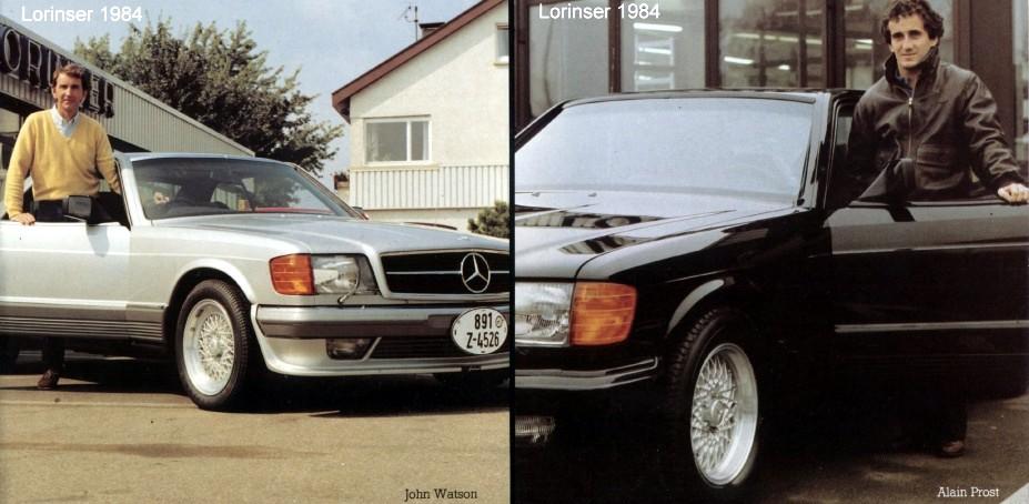 (C/W126): A Classe S e os pilotos de Formula 1 3b475510