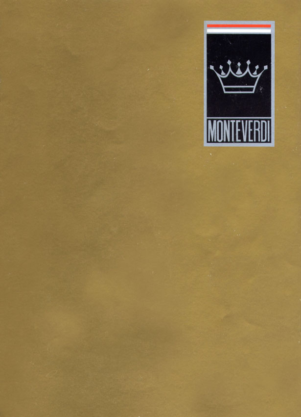 (W126): A versão Monteverdi Tiara da montadora suiça Monteverdi® 3b819b10