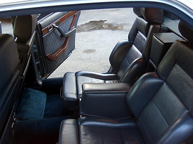 (W126): 560SEL AMG 6.0 - 4 assentos Recaro® - azul/azul 3f63b810