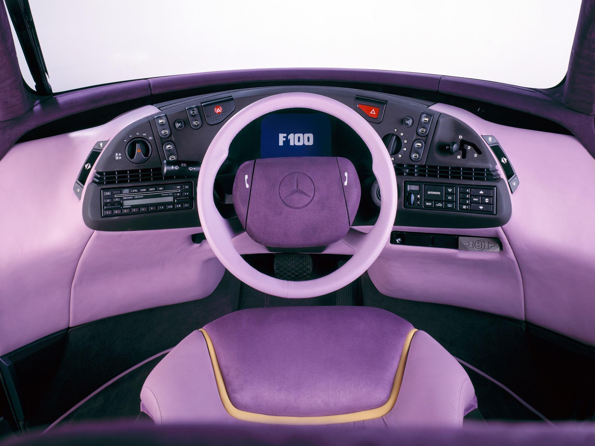 Curiosidade: Mercedes F100, um carro-conceito esquecido 418d8810