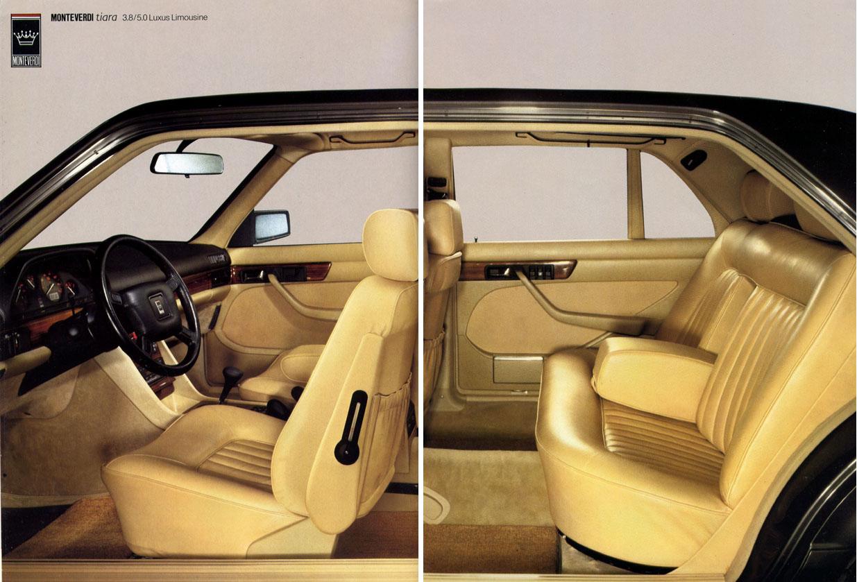 (W126): A versão Monteverdi Tiara da montadora suiça Monteverdi® 4485b110