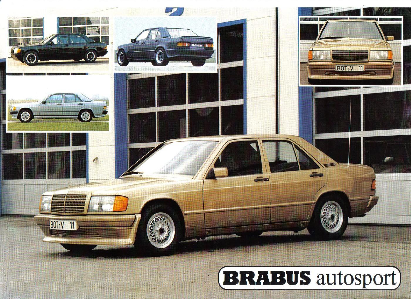 (W201): Catálogo BRABUS® 4c310c10