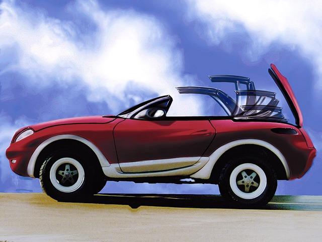 (CONCEITO): Mercedes-Benz Heuliez Intruder Concept 1996 4c906b10