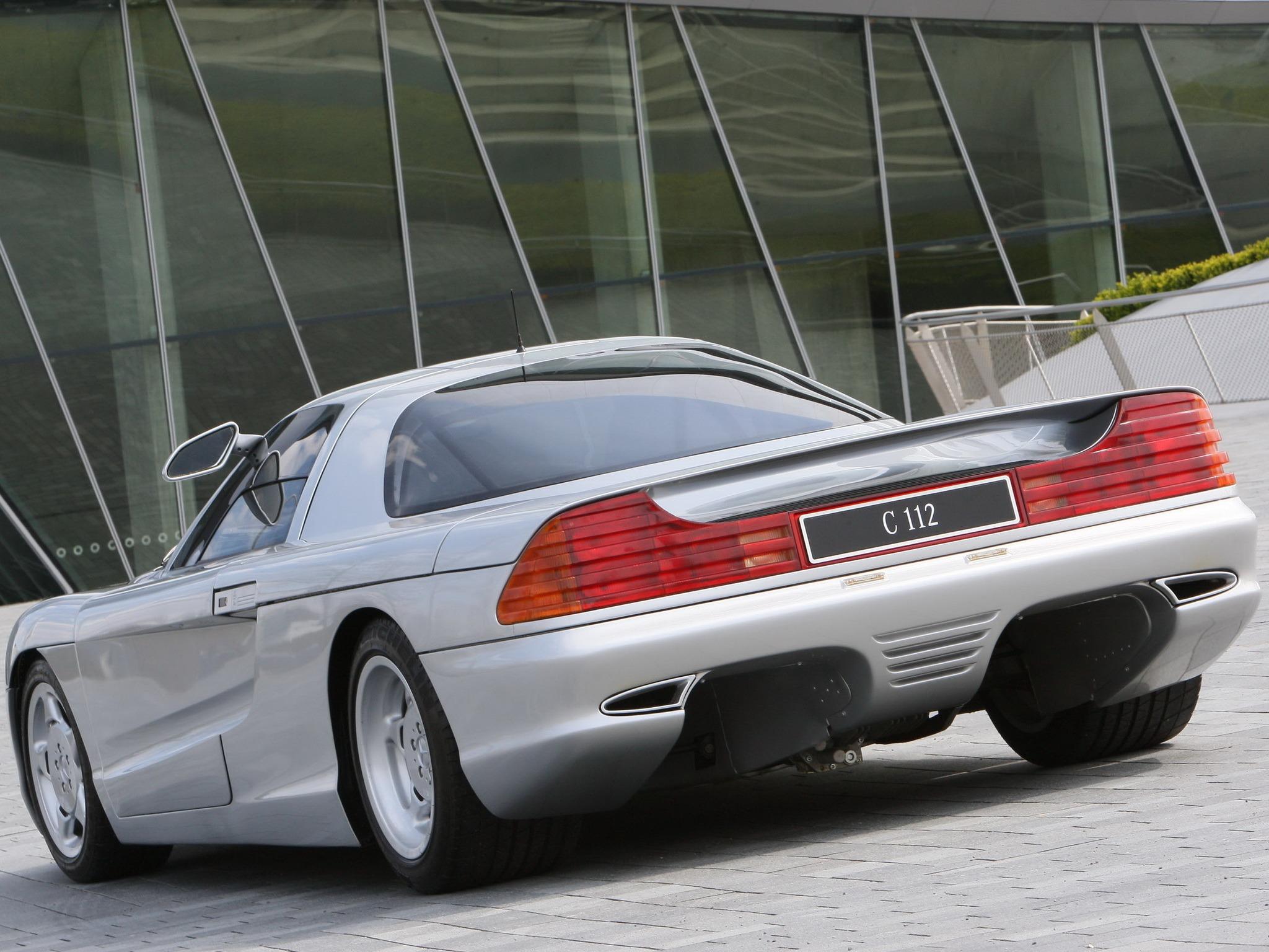 (CONCEITO): Mercedes-Benz C112 Concept 1991 4e409110