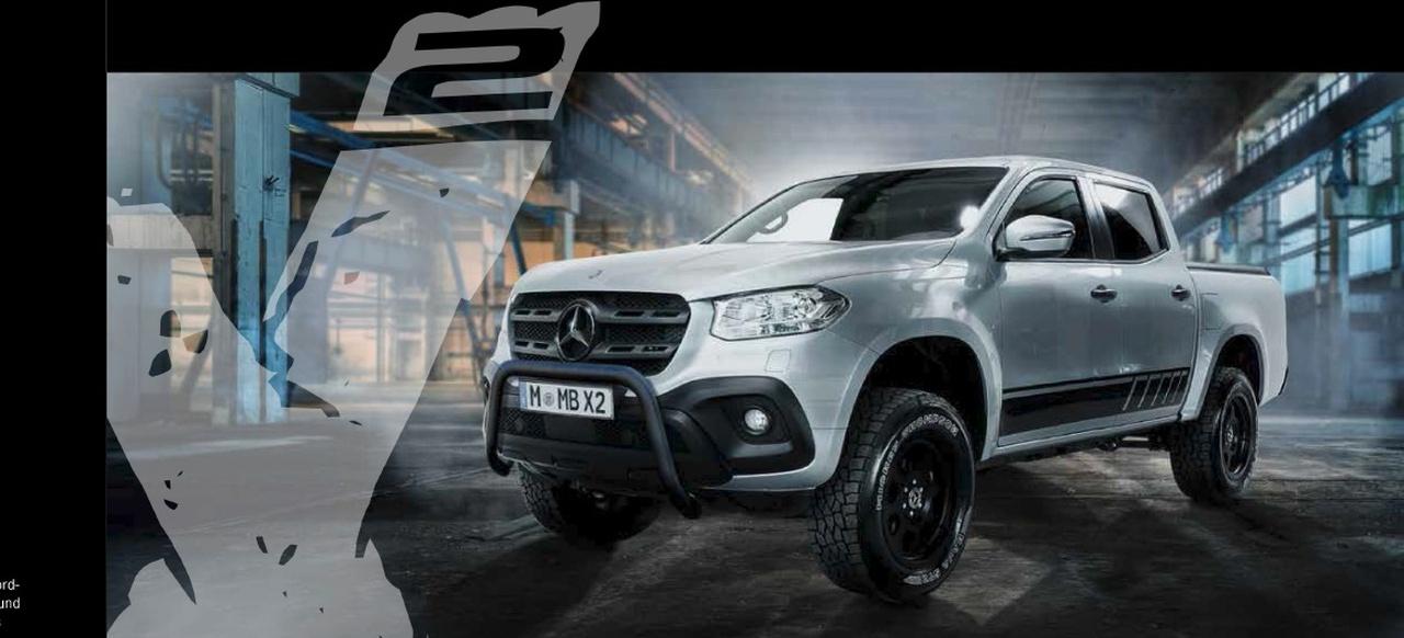 (X470): Mercedes-Benz lança modelo especial chamado de Classe X² 57eccd10
