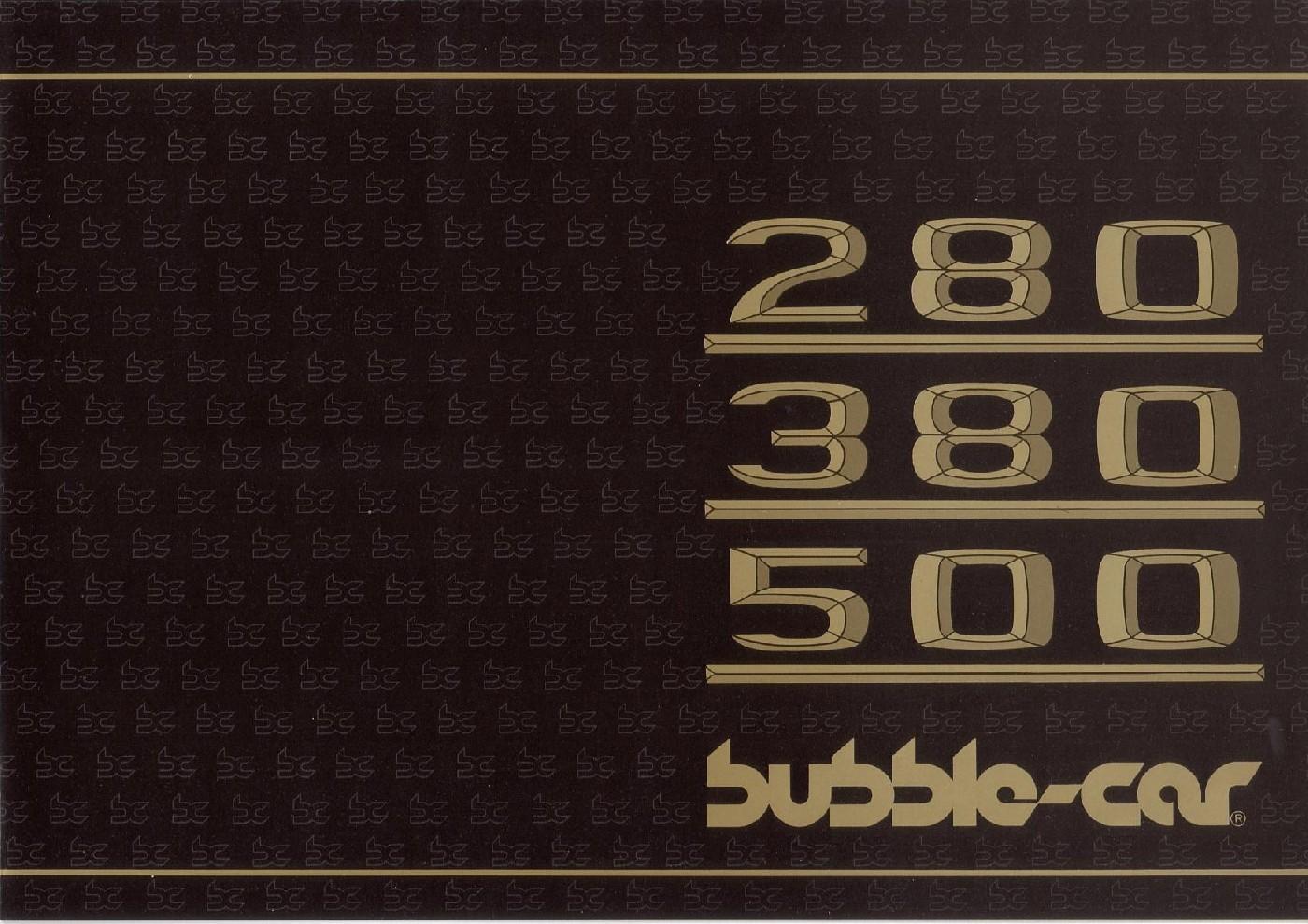 (CATÁLOGO): Bubble-car® 61b43710
