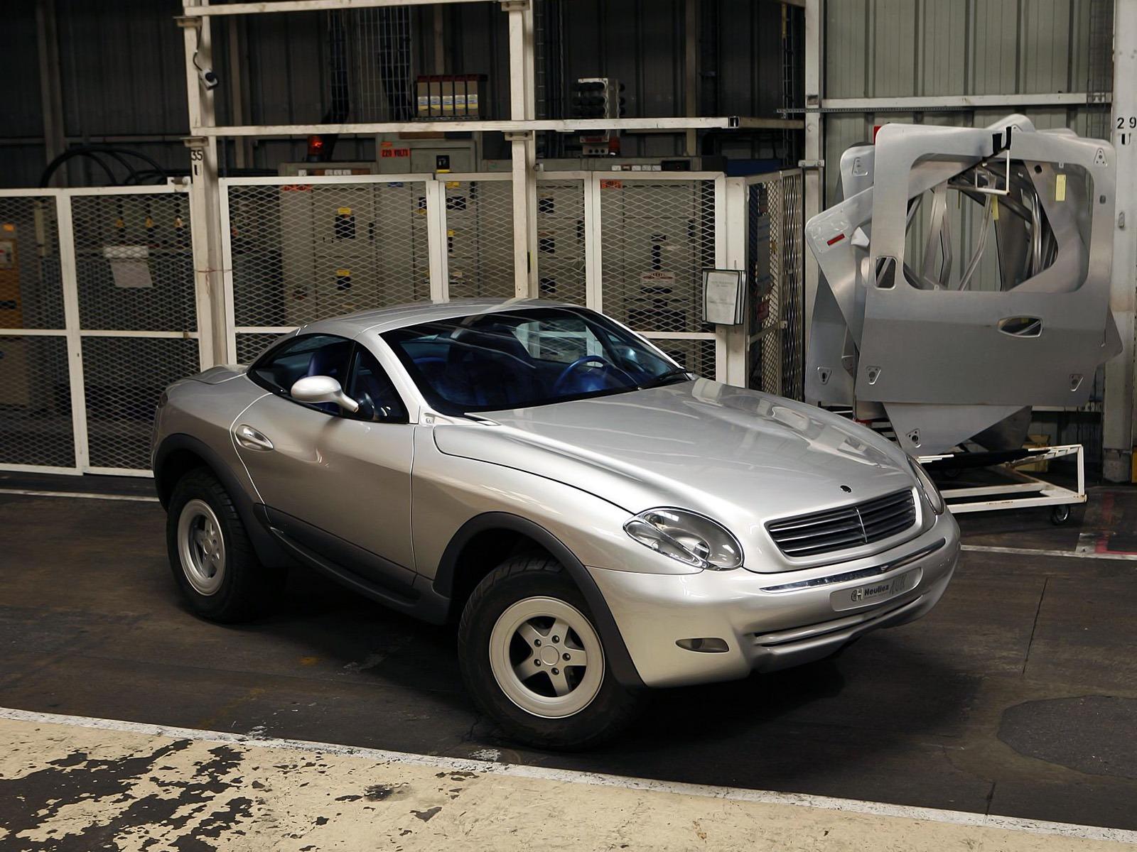 (CONCEITO): Mercedes-Benz Heuliez Intruder Concept 1996 67811310