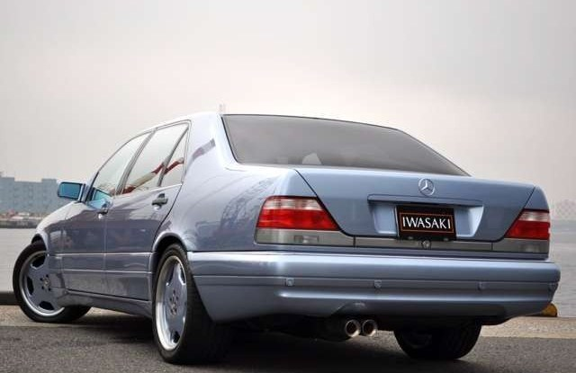(W140): S600 7.0 AMG Designo® - 4 assentos Recaro® - azul/azul 68b57c10