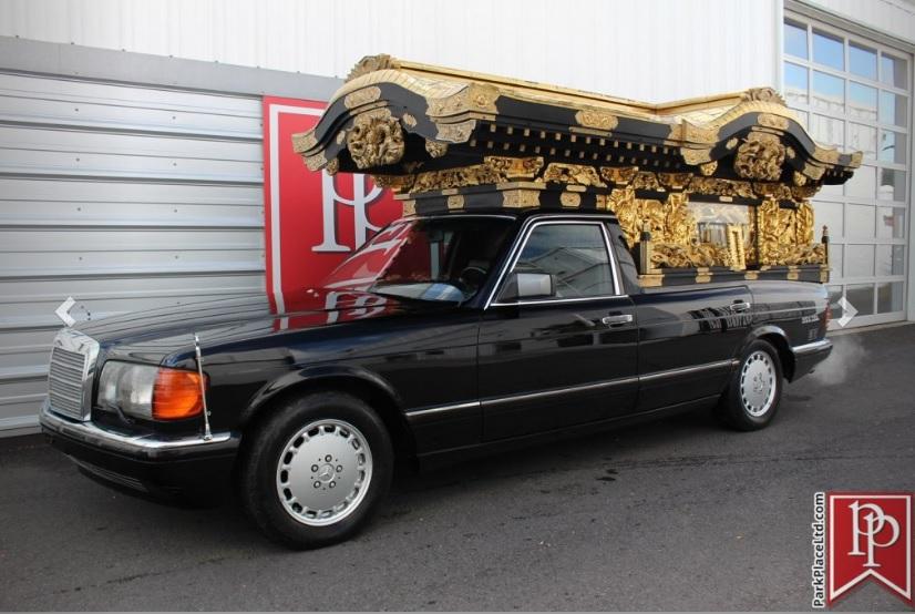 (W126): A excêntrica conversão de uma 560 SEL 1990 em carro de funerária  6dc75410