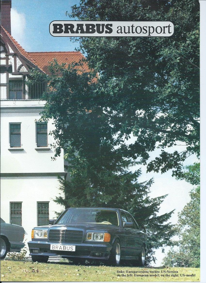 (W126): Catálogo BRABUS® 6e43b510