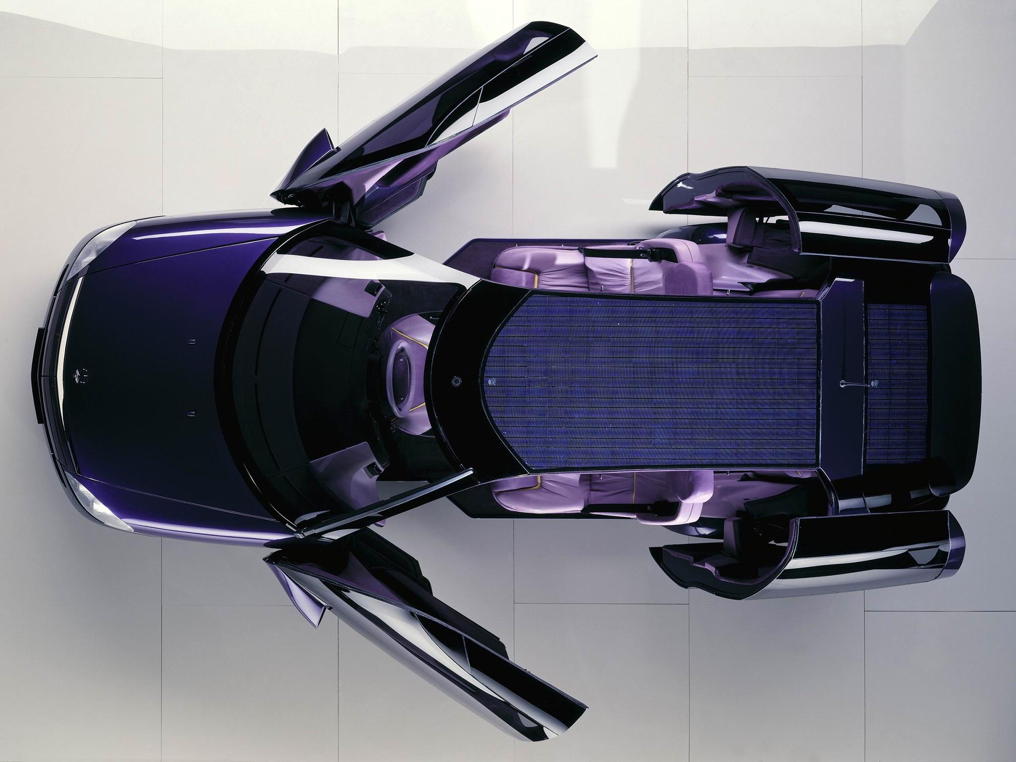 Curiosidade: Mercedes F100, um carro-conceito esquecido 7664e610