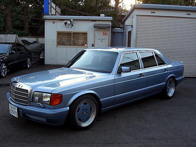 (W126): 560SEL AMG 6.0 - 4 assentos Recaro® - azul/azul 7b2ef610