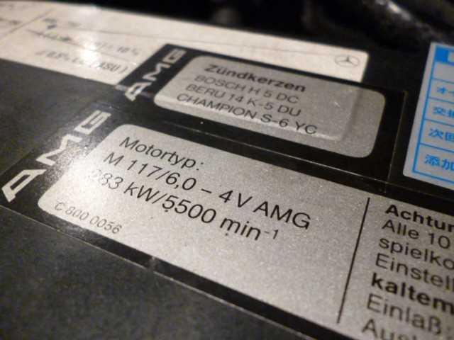 """(W126): 560SE 6.0 32 AMG exótica """"Wide-Radläufe in Hellblau"""" 7b37b910"""