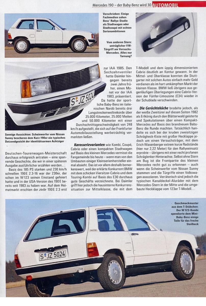 (W201): 190E Stadtwagen 1984 7c701210