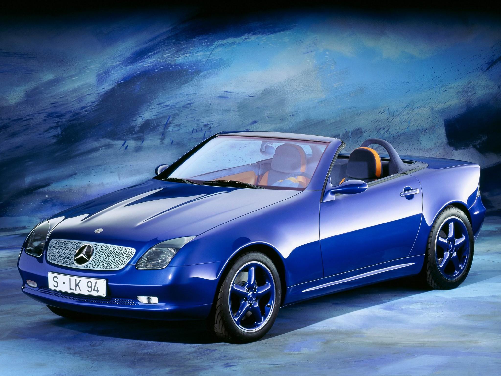 (CONCEITO): Mercedes-Benz SLK2 Concept 1994 7e8fbe10