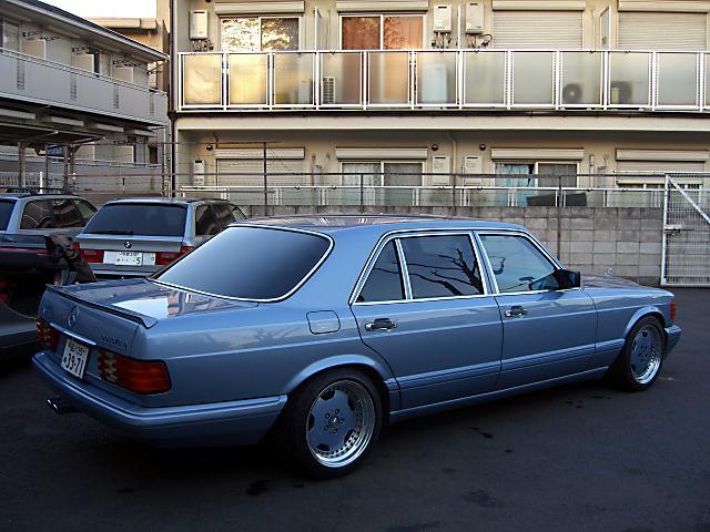 (W126): 560SEL AMG 6.0 - 4 assentos Recaro® - azul/azul 85e95d10