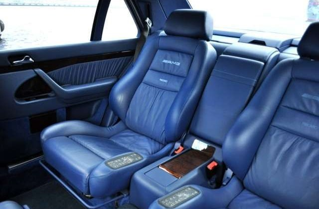 (W140): S600 7.0 AMG Designo® - 4 assentos Recaro® - azul/azul 8a6f9710