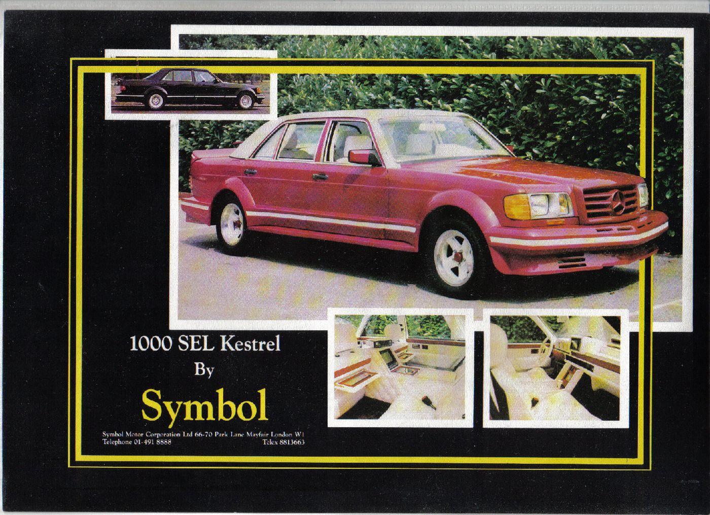 (W126): Conversão feita pela Symbol® - 1000SEL 8db56910
