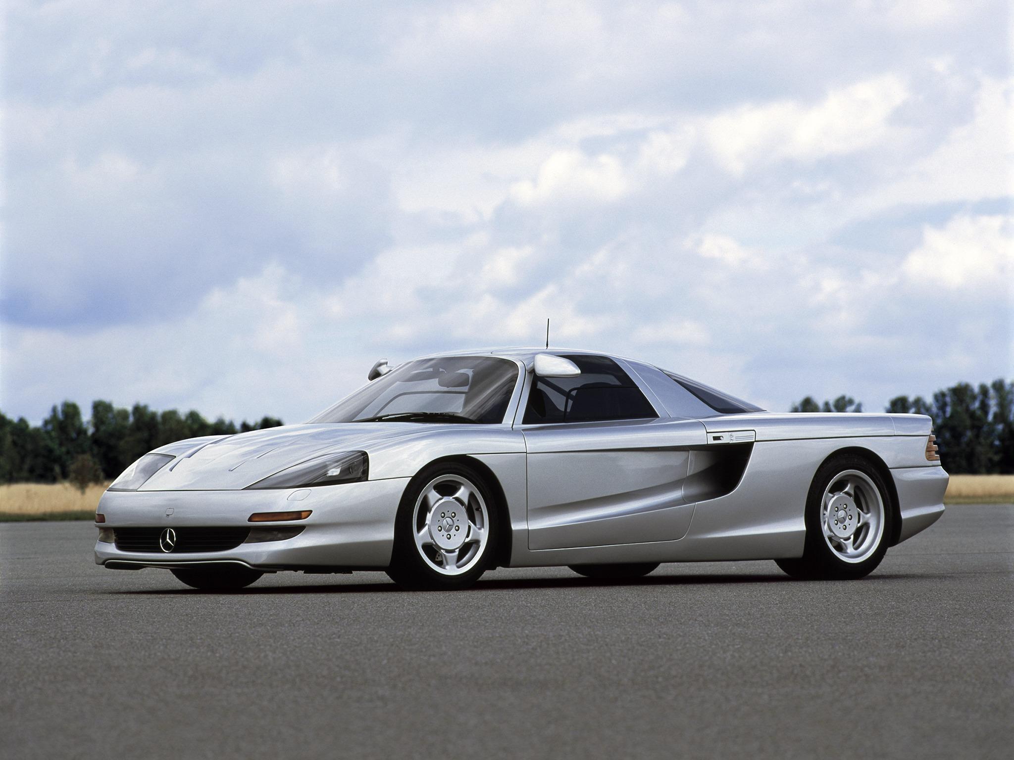 (CONCEITO): Mercedes-Benz C112 Concept 1991 93cc8b10