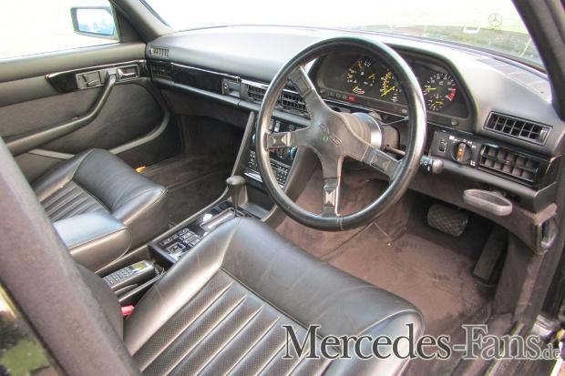 (W126): 500 SEL AMG 1984 que foi do Beatle George Harrison vai a leilão  98394f10