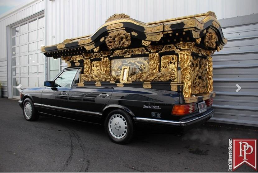 (W126): A excêntrica conversão de uma 560 SEL 1990 em carro de funerária  9e922a10