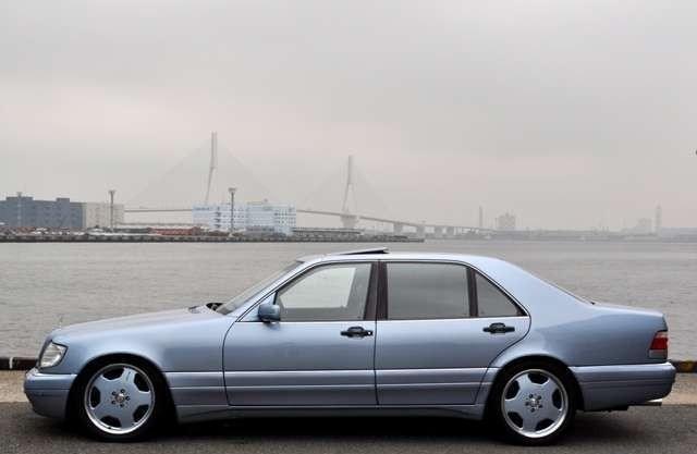 (W140): S600 7.0 AMG Designo® - 4 assentos Recaro® - azul/azul A23b6110