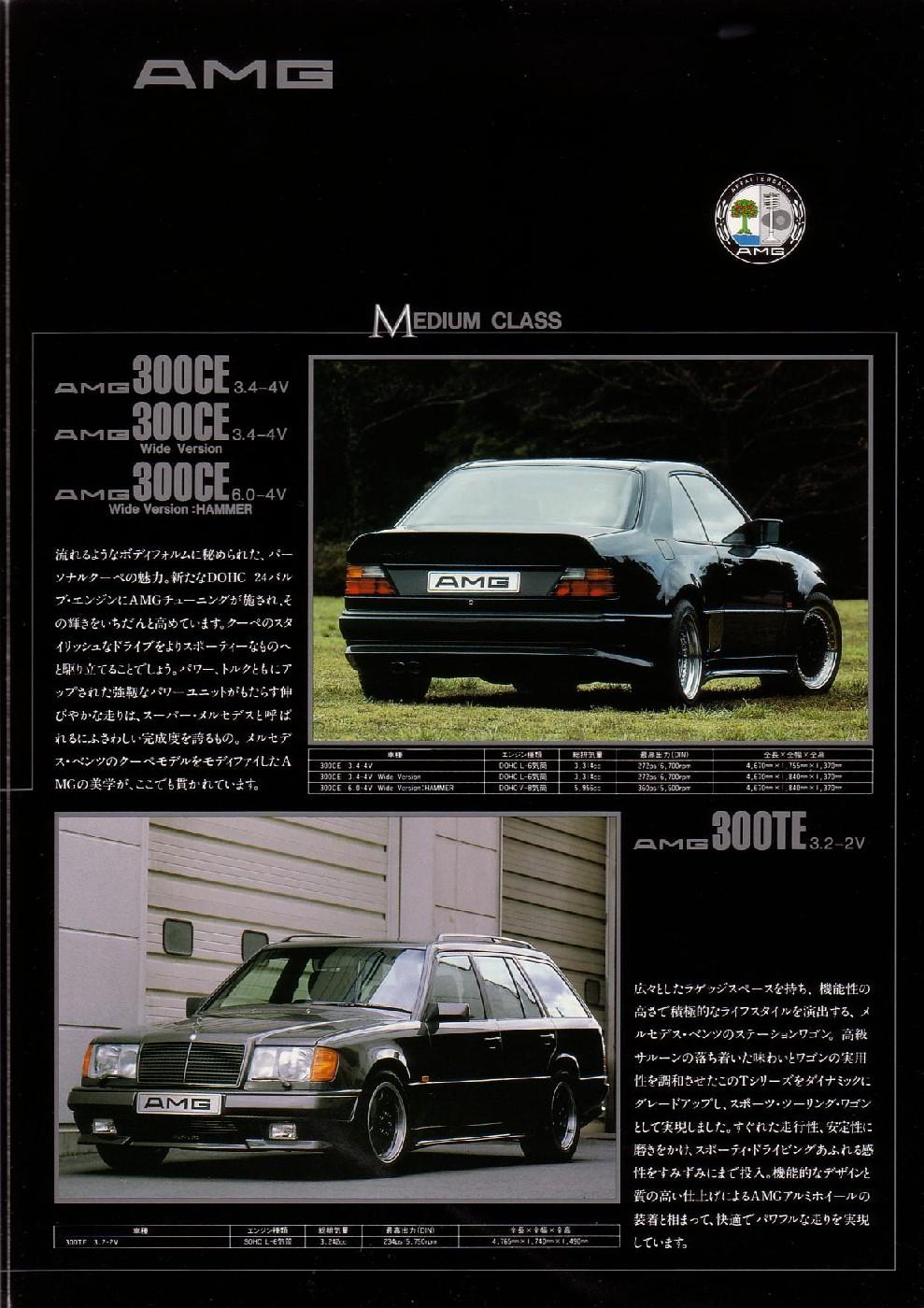 (CATÁLOGO): AMG Japão - linha 1990 A300b810