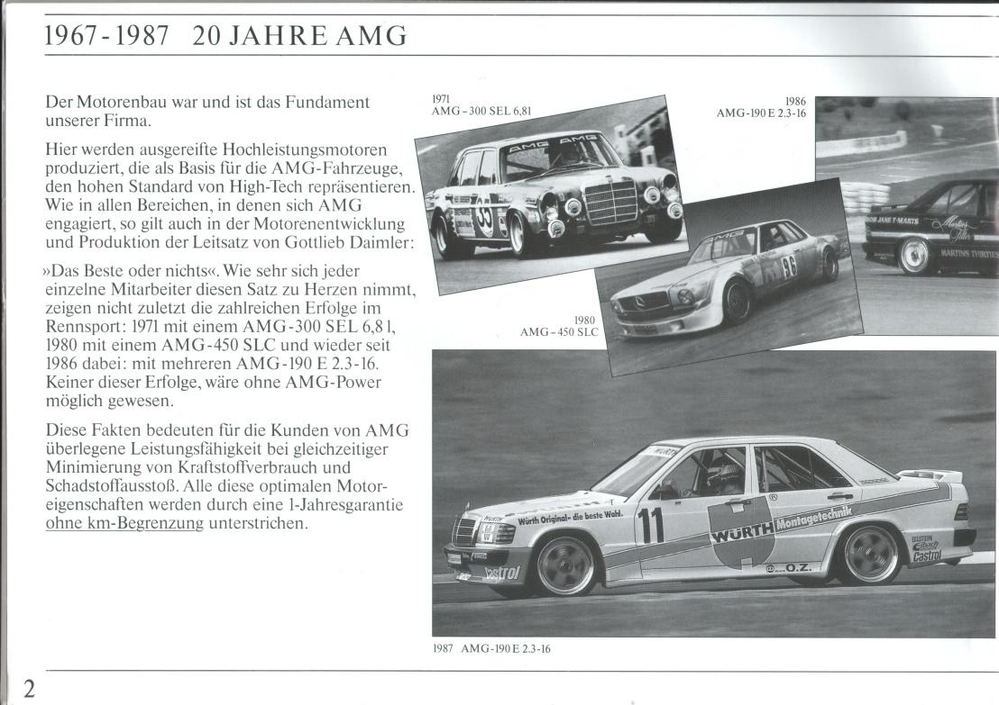 (CATÁLOGO): Linha AMG 1987 A6d3f510