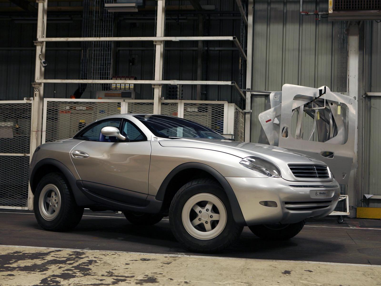 (CONCEITO): Mercedes-Benz Heuliez Intruder Concept 1996 Bfe6d210