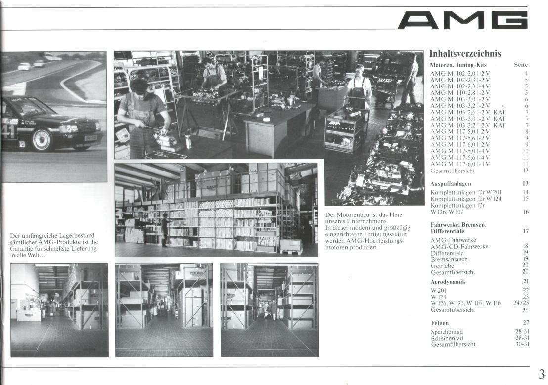 (CATÁLOGO): Linha AMG 1987 C0b75610