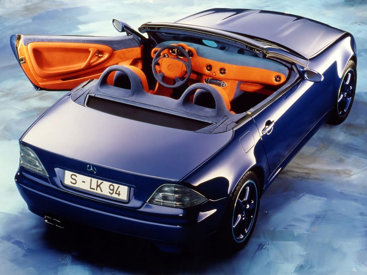 (CONCEITO): Mercedes-Benz SLK2 Concept 1994 C354ad10