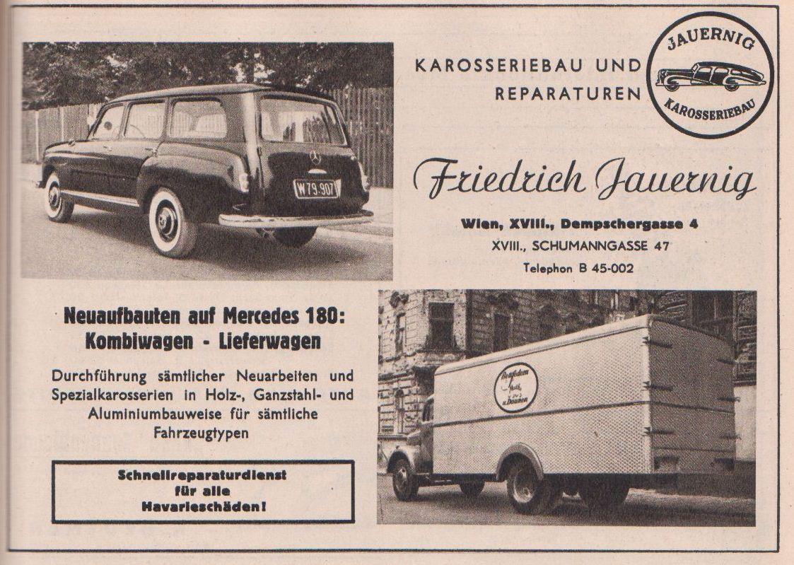 (W120/121): Conversão feita pela Friedrich Jauernig® C3bc1310