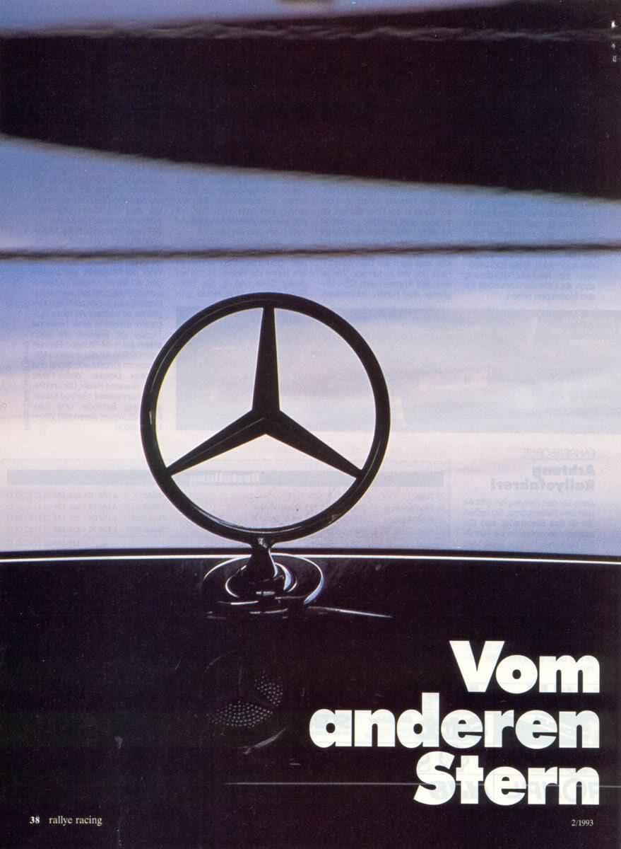 (W201): Avaliação 190E 3.2 AMG x 300CE-24 3.4 AMG x 500E 6.0 AMG - Rallye Racing® 1993 - alemão C595b110
