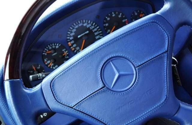 (W140): S600 7.0 AMG Designo® - 4 assentos Recaro® - azul/azul Cccb4110