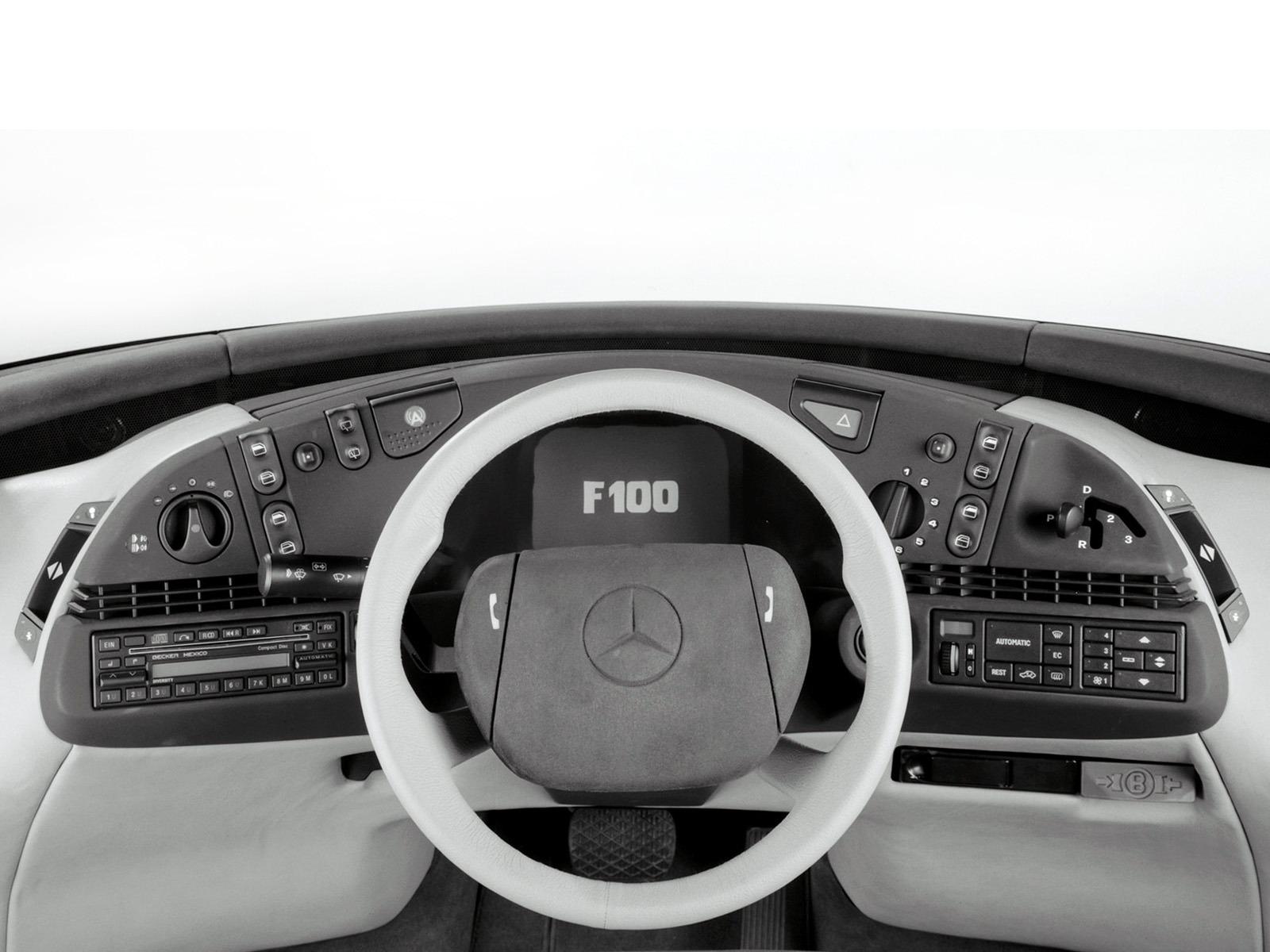 Curiosidade: Mercedes F100, um carro-conceito esquecido Ccd6b010