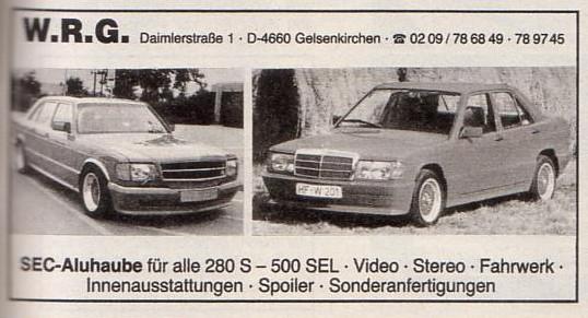 (W.R.G.): As conversões da empresa alemã  Cebae610