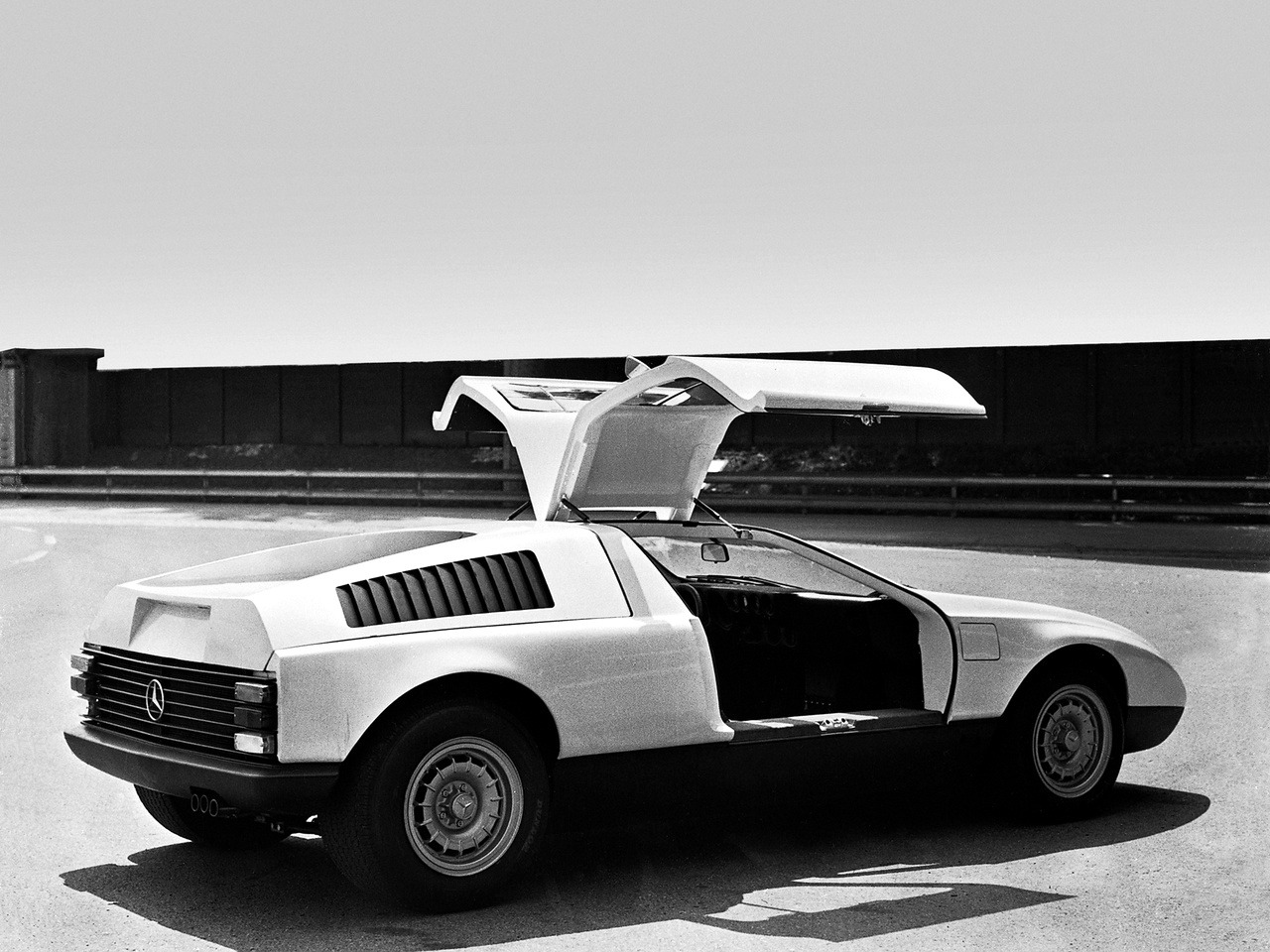 (CONCEITO): Mercedes-Benz C111-I Concept 1969 D033e710