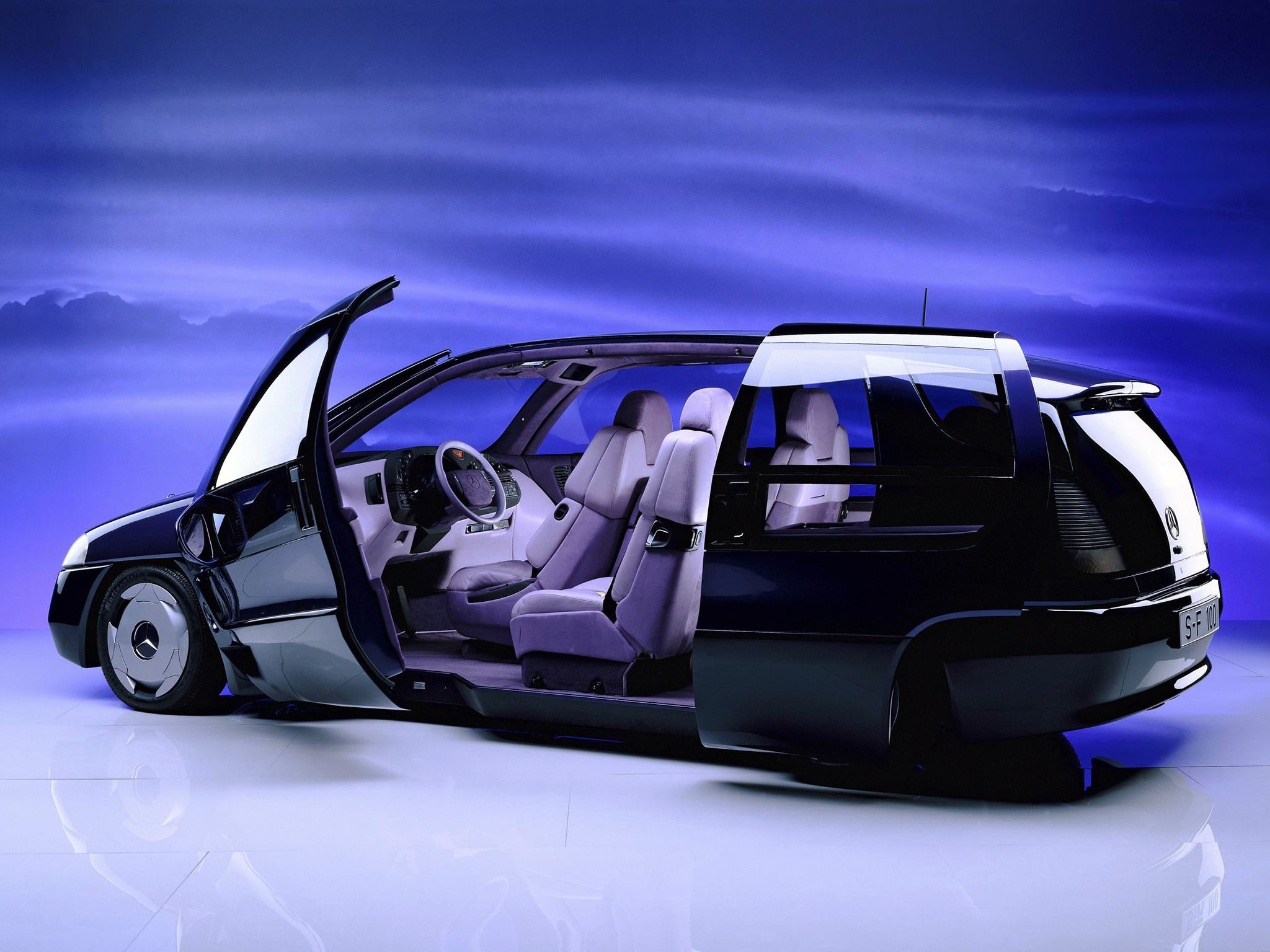 Curiosidade: Mercedes F100, um carro-conceito esquecido D37f7b10