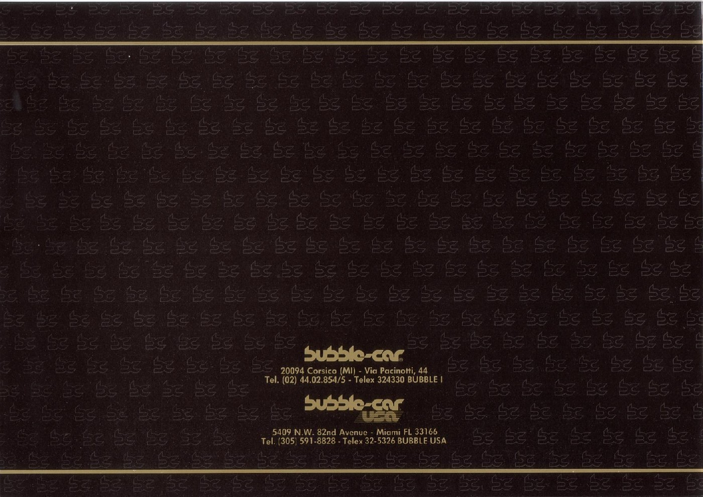 (CATÁLOGO): Bubble-car® D4bd4110
