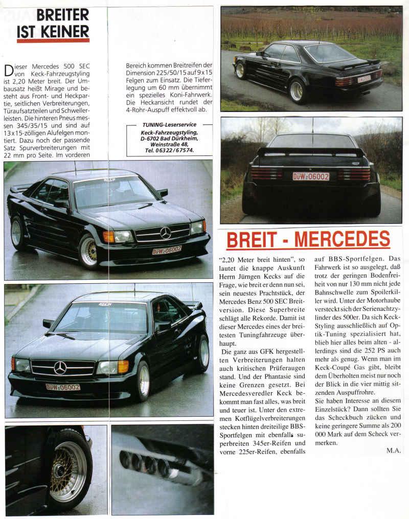 (C126): Conversão feita pela Keck-Fahrzeugstyling® D9bf2510